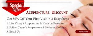 Acupunctre Special Offer