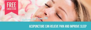 acupuncture can relieve pain and improve sleep