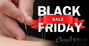 Black Friday Acupuncture Deal