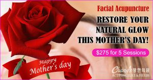 facial acupuncture mothersday special