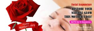 facial acupuncture mothersday spceal